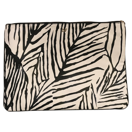Diane von Furstenberg clutch with pattern