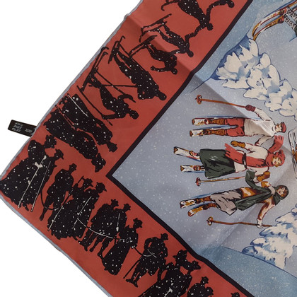 Karl Lagerfeld silk scarf