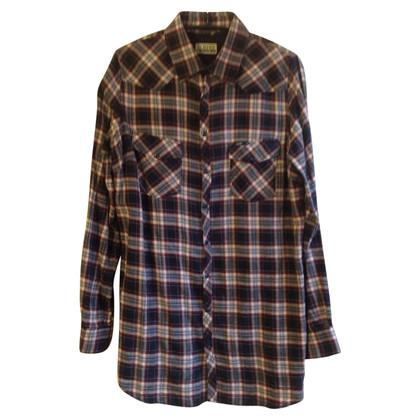 Closed Lange blouse met Plaid