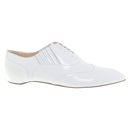 Christian Louboutin Lace-up shoes in white