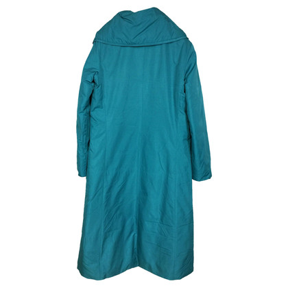 Stefanel Down coat in turquoise