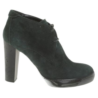 Hogan Ankle boots in green