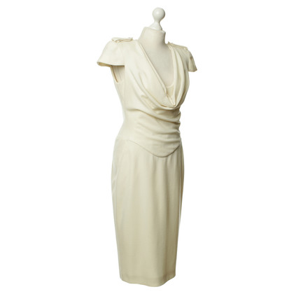 Alexander McQueen Dress in cream