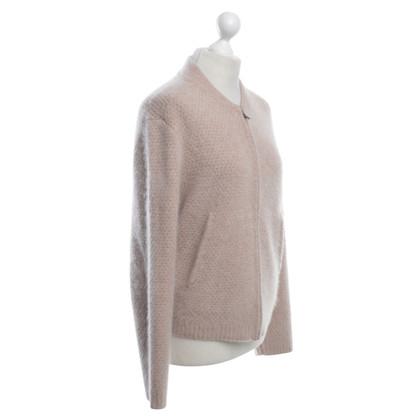 360 Sweater Cardigan in Nude