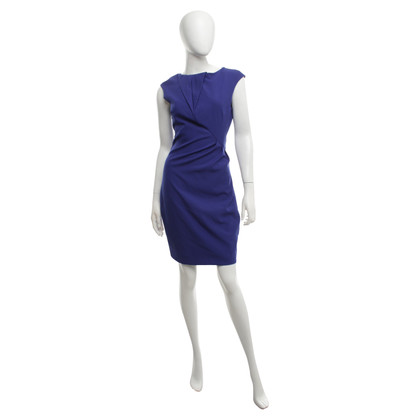 Reiss Kleid in Blau/Lila
