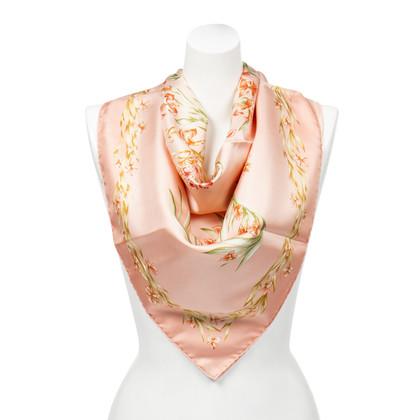 "Hermès Silk scarf ""Floral Horse"""