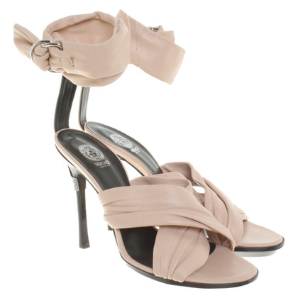 Versace nude coloured Sandals