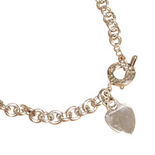 0da47ccfa125e Tiffany & Co. Heart Tag Tiffany necklace - Second Hand Tiffany & Co ...