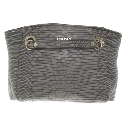 DKNY Schoudertas in reptiel optica