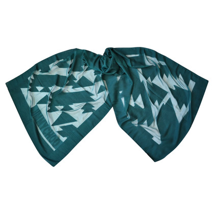 Jimmy Choo Wool scarf with silk content