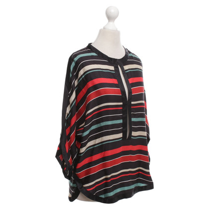Isabel Marant Etoile top with stripe pattern