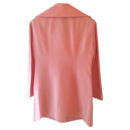 Jil Sander Coat in Flamingo colors