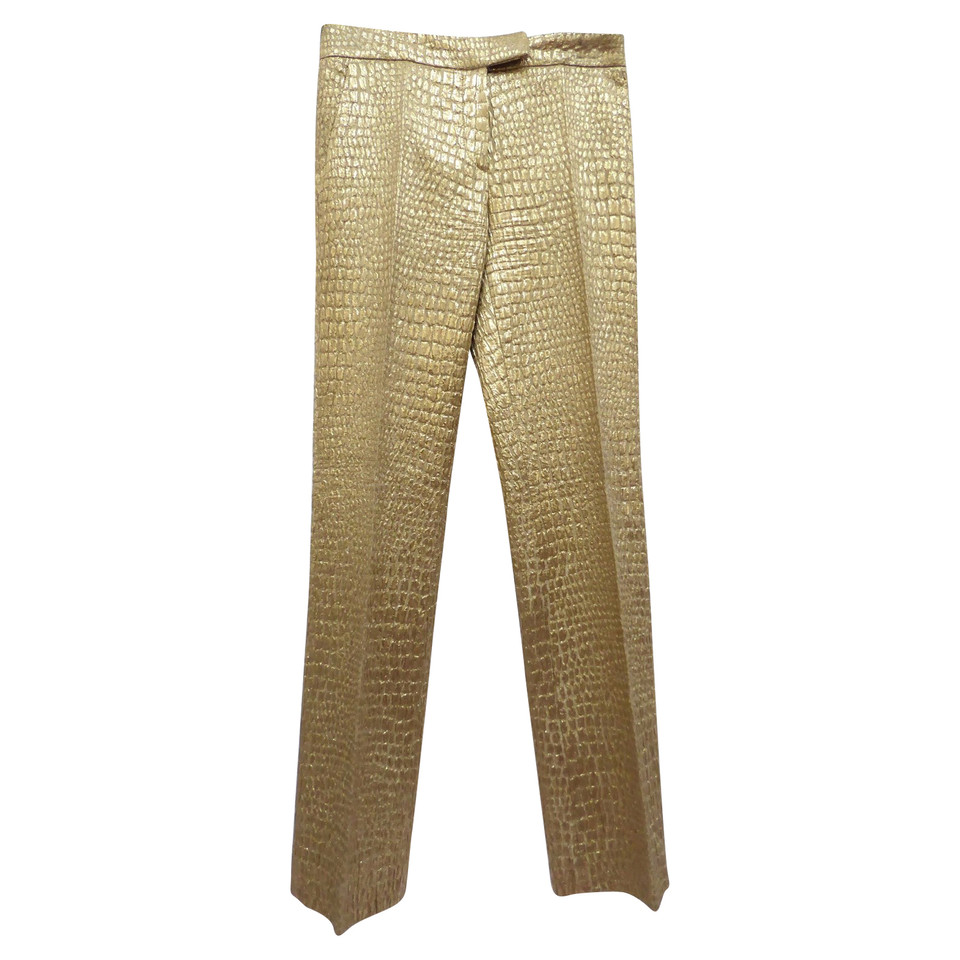 Blumarine Pants made Lamé