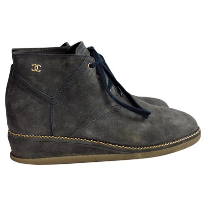 Chanel Suede boots