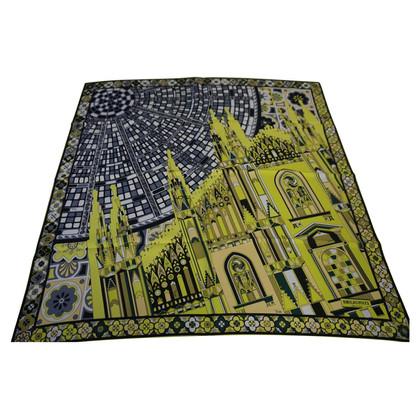 Emilio Pucci Zijden sjaal met print