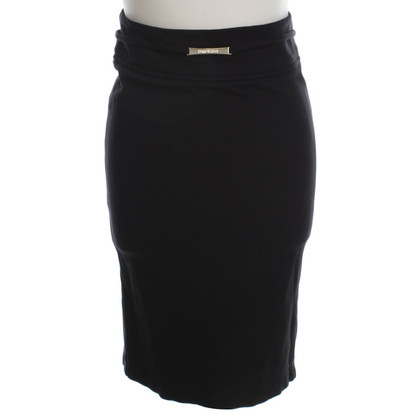 Patrizia Pepe Jersey pencil skirt in black