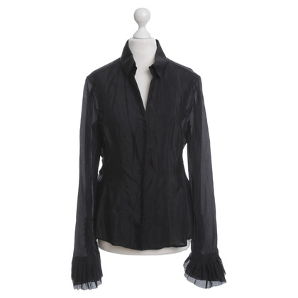 Hugo Boss Black blouse with lace detail