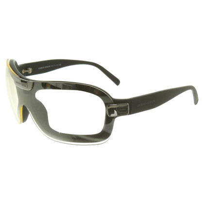 Armani Monoshade glasses in black