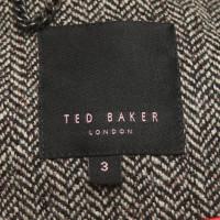 Ted Baker Blazer mit Fischgrätmuster