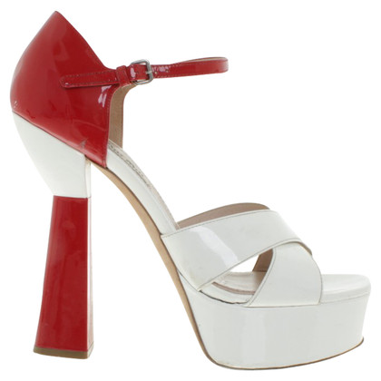 Miu Miu Sandalen Patent Leather