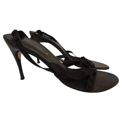 Dolce & Gabbana sandales noires