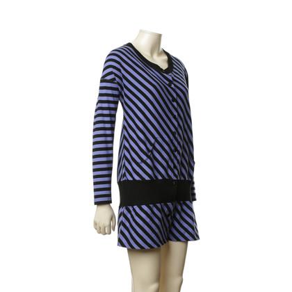 Sonia Rykiel top with stripe pattern