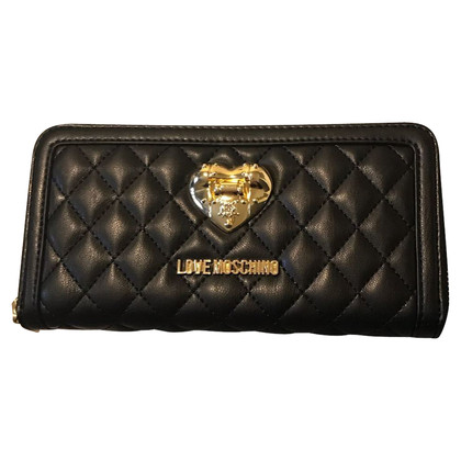 Moschino Love Wallet in zwart