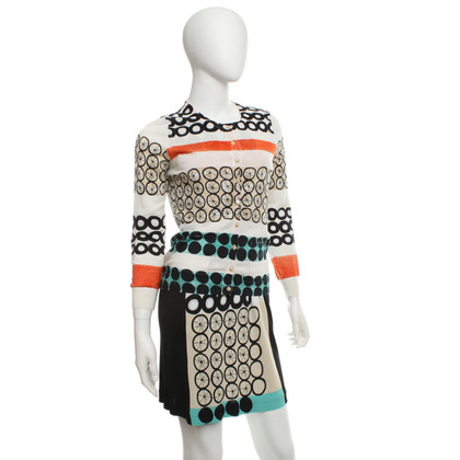 Maliparmi Dress & cardigan with pattern