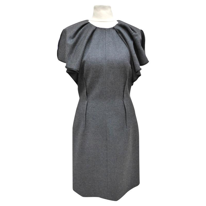 Giambattista Valli Kleid mit gerüschten Ärmeln - Second Hand ...