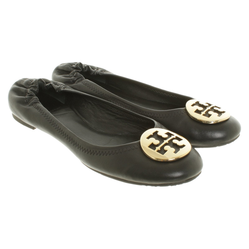 Tory Burch Leather ballet flats Tory Burch Leather ballet flats ...