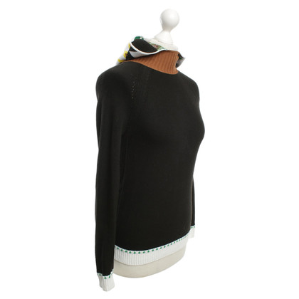 Jil Sander Knitted sweater with pattern