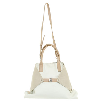 Akris Handbag in beige / cream