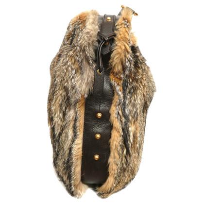 Gucci Borsa di pelliccia di volpe