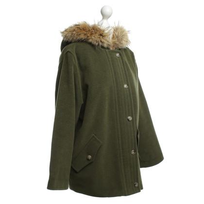 Max Mara Fur hooded jacket