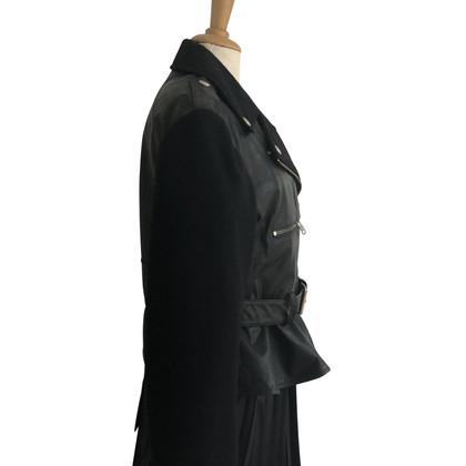 Alexander McQueen biker jacket made of leather