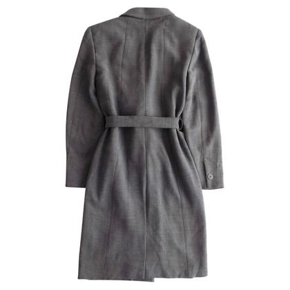 Max Mara Lana leggera e cappotto di fusione di viscosa