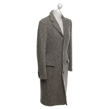 Ralph Lauren Wool coat with herringbone pattern