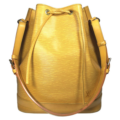 "Louis Vuitton ""Grand Noé EPI' in giallo"
