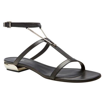 La Perla Black sandals