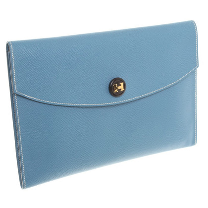 Hermès clutch in Blue