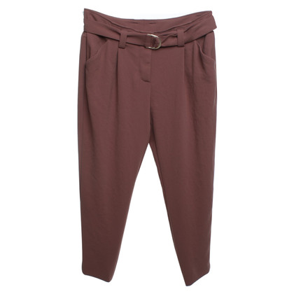 René Lezard trousers in brown