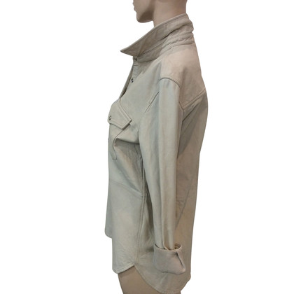 Isabel Marant Etoile Chemise en cuir