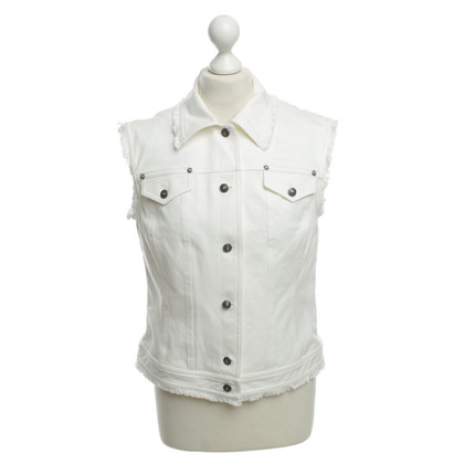 Escada Vest in white