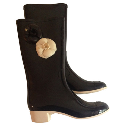Chanel Rubber boots limited edition