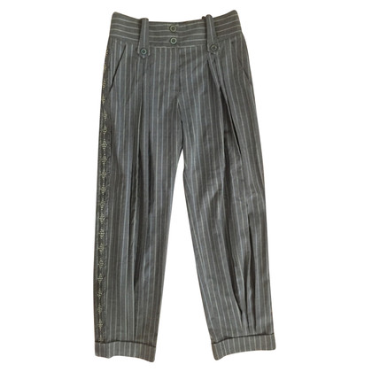 Christian Dior Pantaloni a righe