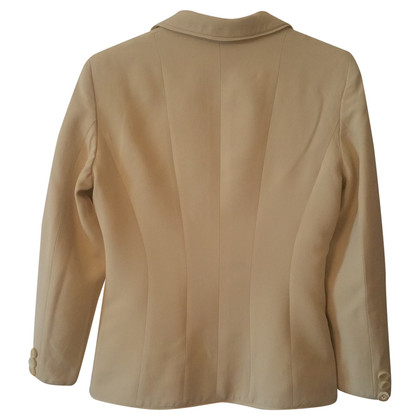 Moschino Cheap and Chic Blazer in vanilla