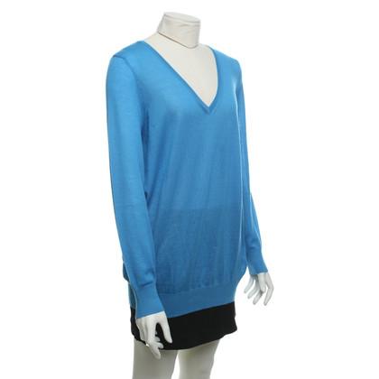 Malo Kaschmir-Pullover in Blau