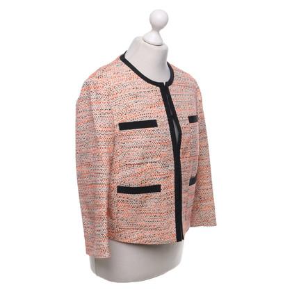 L.K. Bennett Short jacket in bouclé look