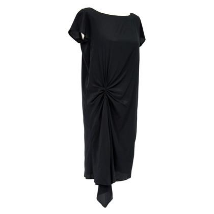 DKNY Silk tunic in black