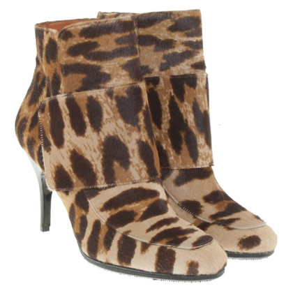 Lanvin Ankle boots with animal design